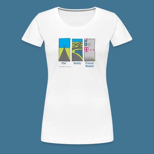 Wege telekom - Frauen Premium T-Shirt