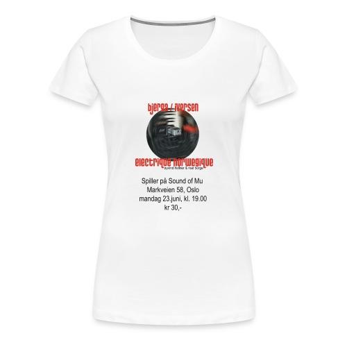 Bjerga / Iversen & Electrique Norwegique - Women's Premium T-Shirt