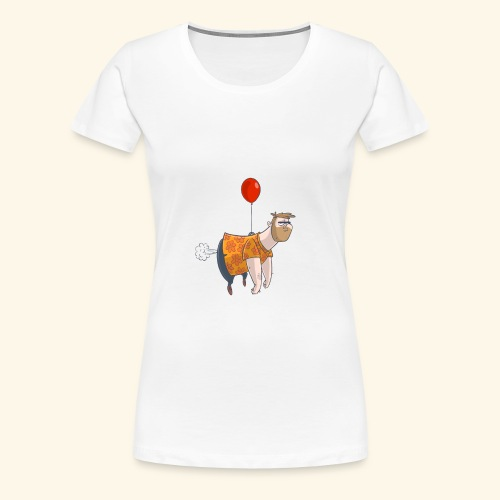 Ballon man - Vrouwen Premium T-shirt