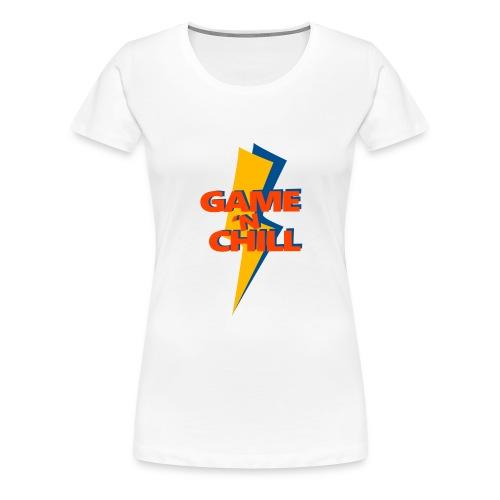 Game 'n Chill - Vrouwen Premium T-shirt