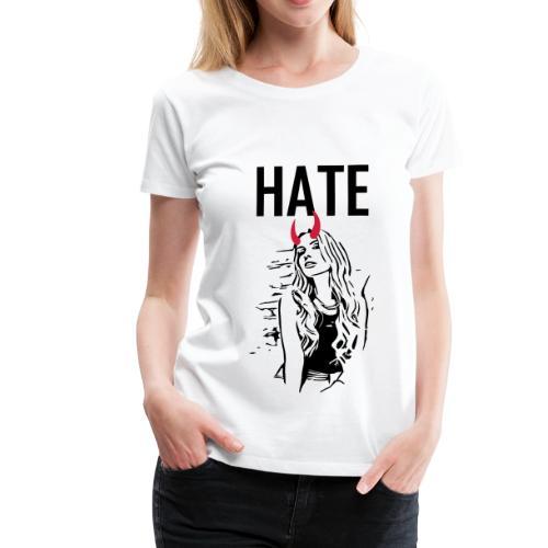 fashion hate devil sexy pin up 2reborn - Frauen Premium T-Shirt