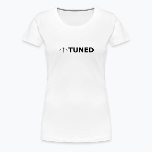 TUNED - Redécouvrez la radio Monochrome - T-shirt Premium Femme