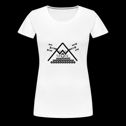 HODL Bitcoin Cryptocurrency trading Cryptonight - Frauen Premium T-Shirt