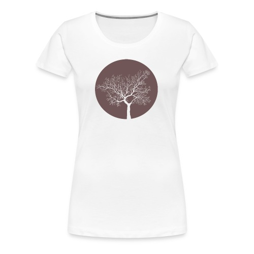 Moontree Red - Frauen Premium T-Shirt