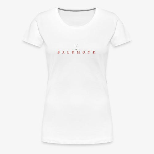 Baldmonk Classic Logo - Women's Premium T-Shirt