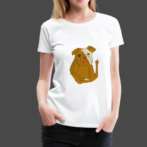 Smokey the Dog - Women's Premium T-Shirt