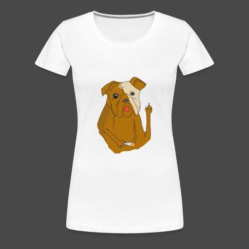 Smokey the Dog - Women's Premium T-Shirt