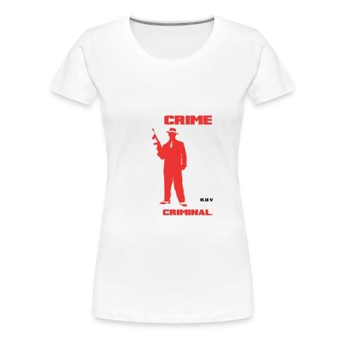 KUV vaping_criminal - Naisten premium t-paita