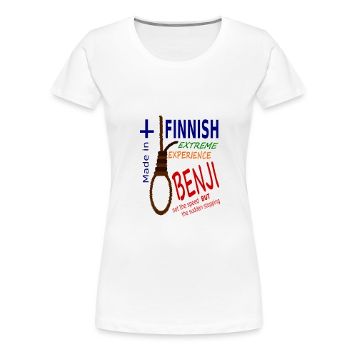 FINNISH-BENJI - Women's Premium T-Shirt