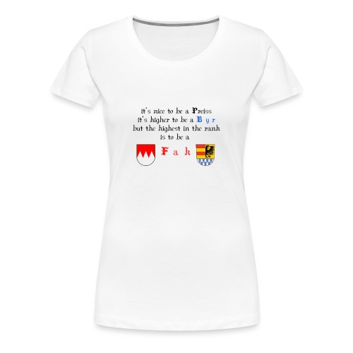 frank_wappen - Frauen Premium T-Shirt