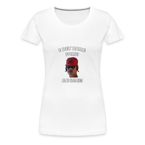 Sameskjorta - Premium T-skjorte for kvinner
