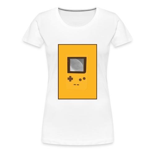 Game Boy Nostalgi - Laurids B Design - Dame premium T-shirt