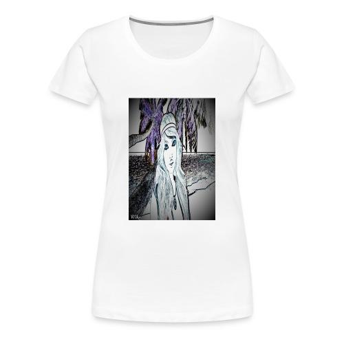 Mein foto aus Second life Pster 1 - Frauen Premium T-Shirt