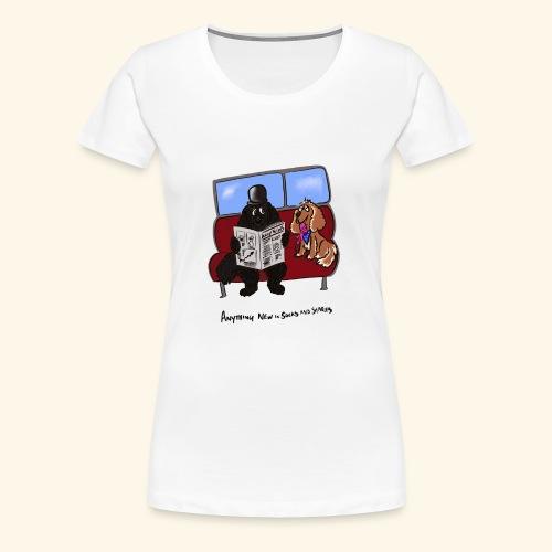 Socks and shares - Women's Premium T-Shirt