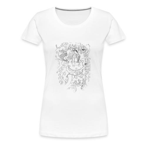 Japan Design - Frauen Premium T-Shirt