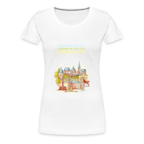 AACHEN Summer in the city - Frauen Premium T-Shirt