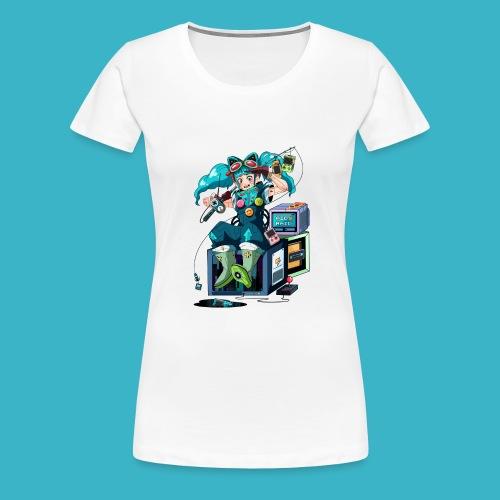 AID RAID Maskottchen by pfannkuchenherz - Frauen Premium T-Shirt