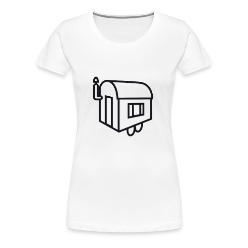 Bauwagen on Tour - Frauen Premium T-Shirt