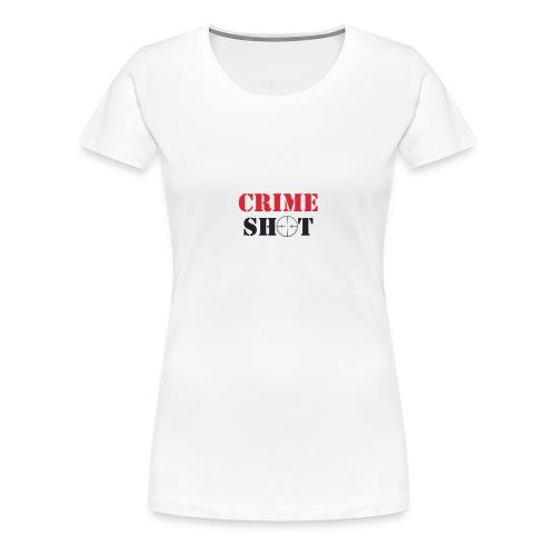 Crimeshot logo - Women's Premium T-Shirt