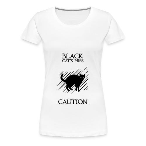 black cat - Camiseta premium mujer