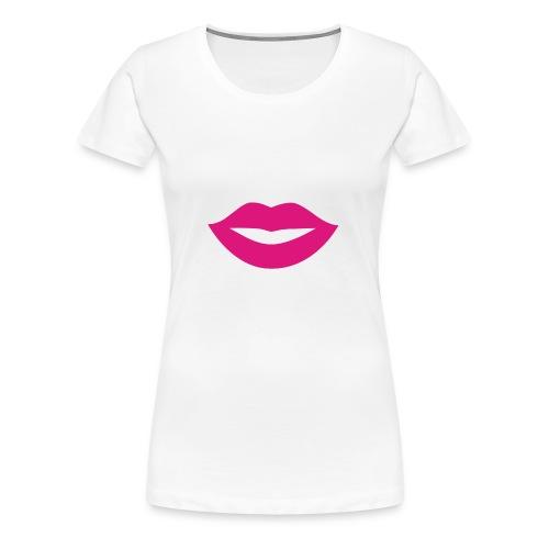 2000px-Lips_Silhouette-svg-png - T-shirt Premium Femme