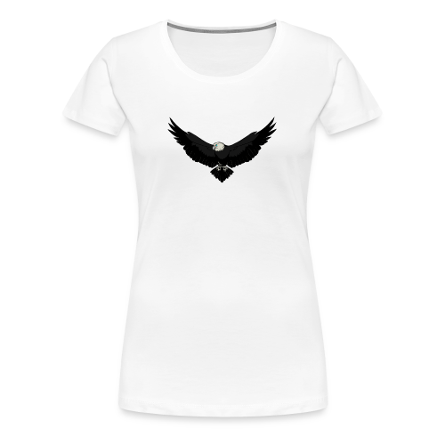 White BlackEagle Edition - Frauen Premium T-Shirt