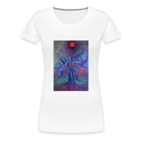 DrzewoKwiat - Koszulka damska Premium