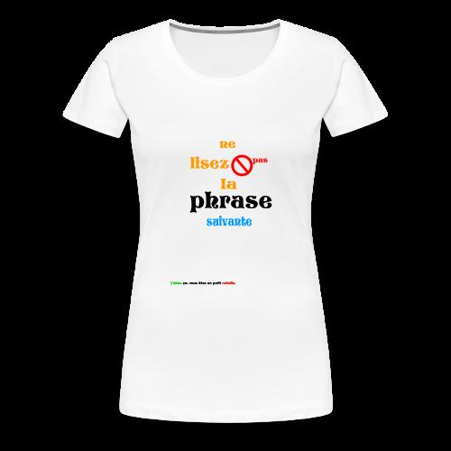 cool_swag - T-shirt Premium Femme