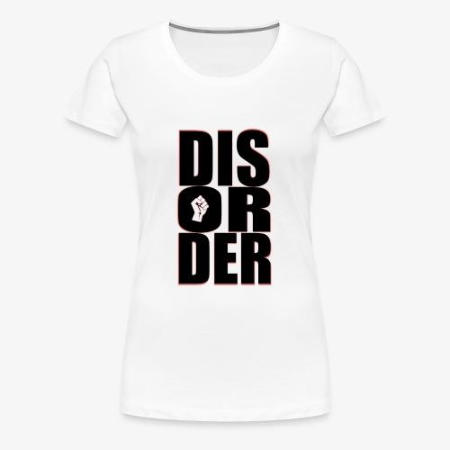 Disorder Logo Schwarz - Frauen Premium T-Shirt