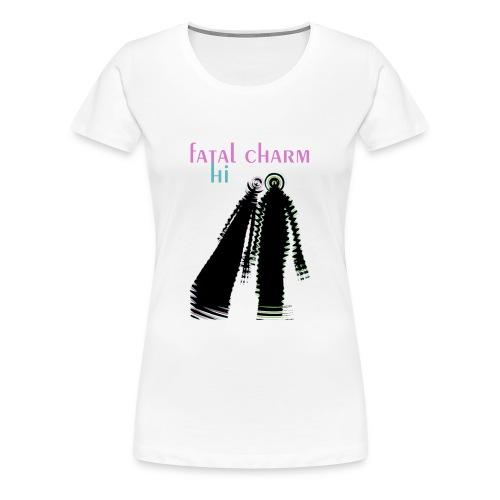 fatal charm - hi album cover art - Women's Premium T-Shirt