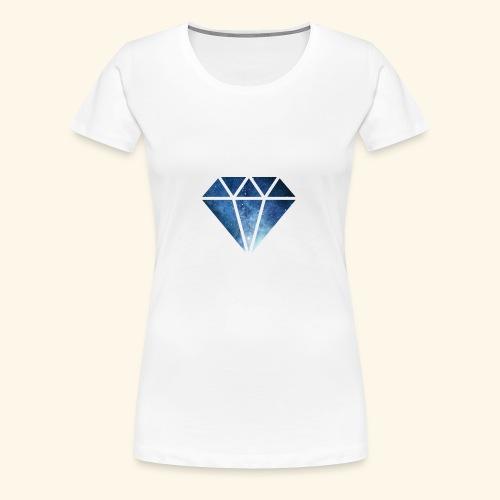 Galaxie Diamant - Frauen Premium T-Shirt