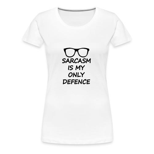 Sarcasm Is My Only defence Stiles Stilinski - T-shirt Premium Femme