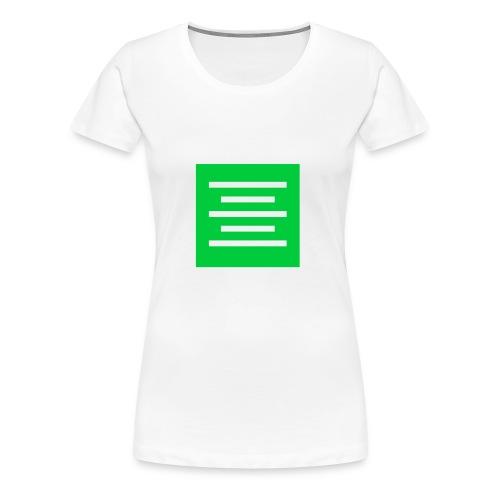 Please Insert Random Information Here Logo - Women's Premium T-Shirt