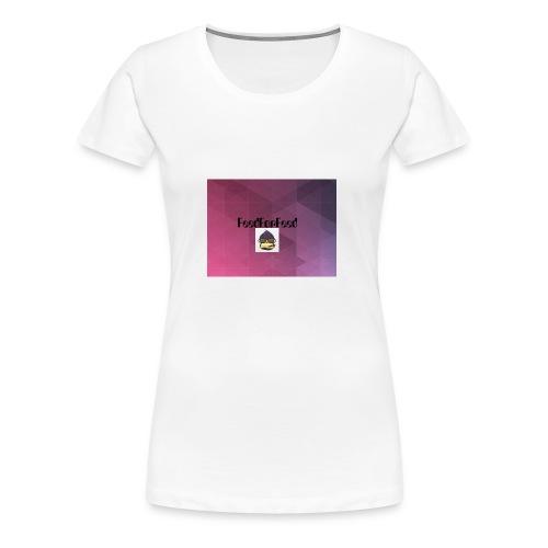 FeedForFeed! logo - Premium T-skjorte for kvinner