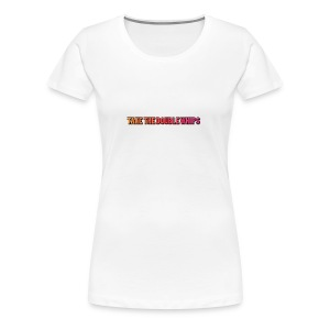 TAKE THE DOUBLE WHIPS ICON - Women's Premium T-Shirt