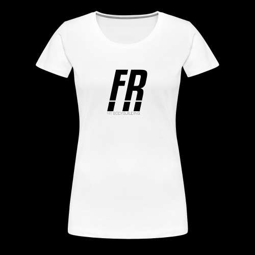FR FIT BODYBUILDING - Frauen Premium T-Shirt