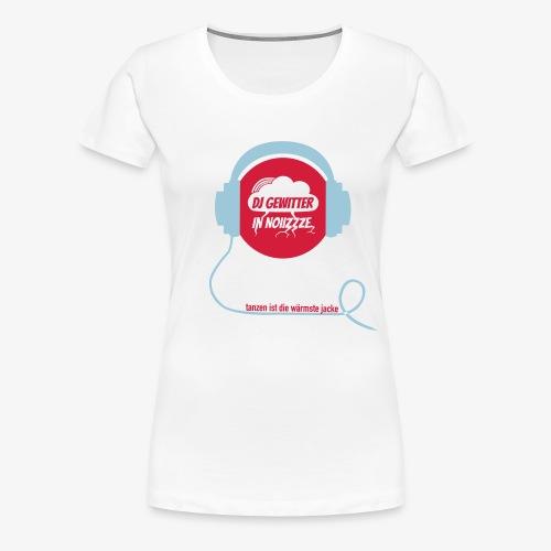 DJ Gewitter Basic 2.0 - Frauen Premium T-Shirt