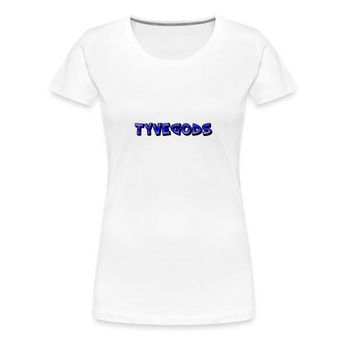 Tyvegods T-skjorte - Premium T-skjorte for kvinner