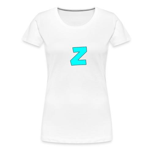 logo_p--_Kl--r_2-png - Premium T-skjorte for kvinner