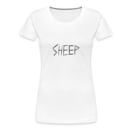 sheep. - Women's Premium T-Shirt