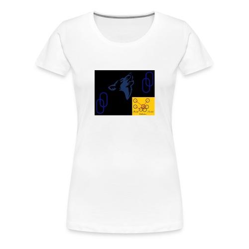 Wolf Logo - Frauen Premium T-Shirt