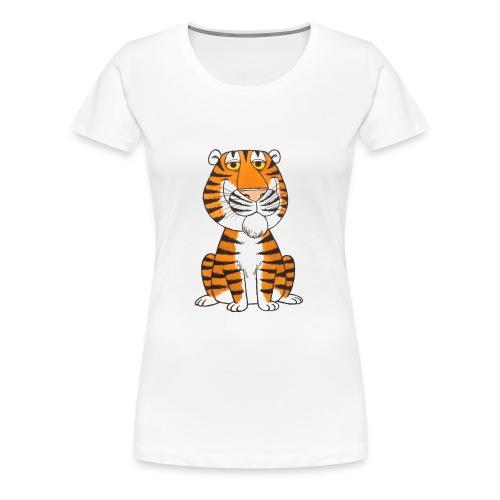 kidscontest Tiger - Women's Premium T-Shirt