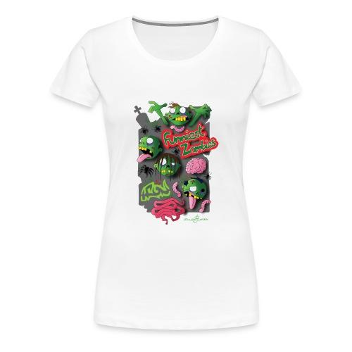 Zombie Graffiti - Maglietta Premium da donna