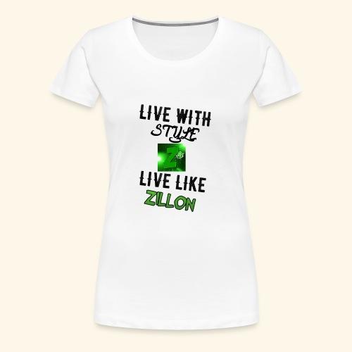 LWS LlZ - Camiseta premium mujer