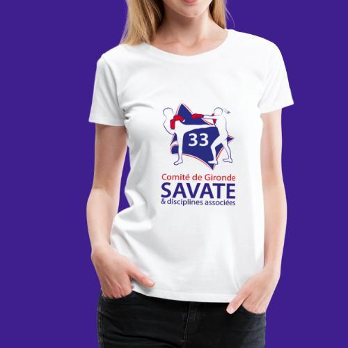 Comité Savate 33 - T-shirt Premium Femme