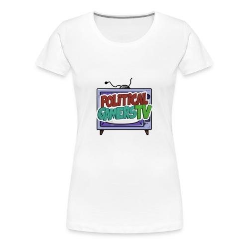 Politcial Gamers TV Shop - Women's Premium T-Shirt
