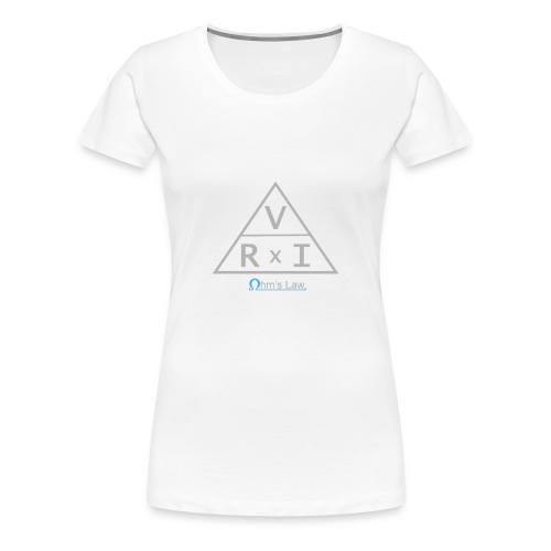 Ohm's Law (Ohmsches Gesetz) - Frauen Premium T-Shirt