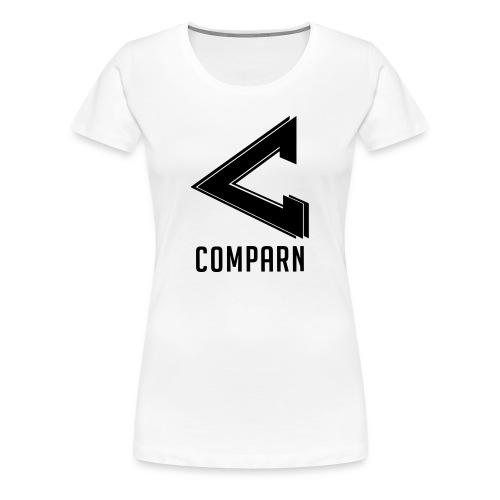 Youtube c0mparn's Logotype - Premium-T-shirt dam
