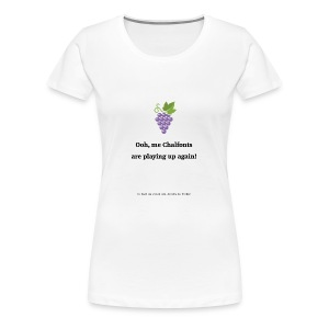 Chalfonts - Women's Premium T-Shirt
