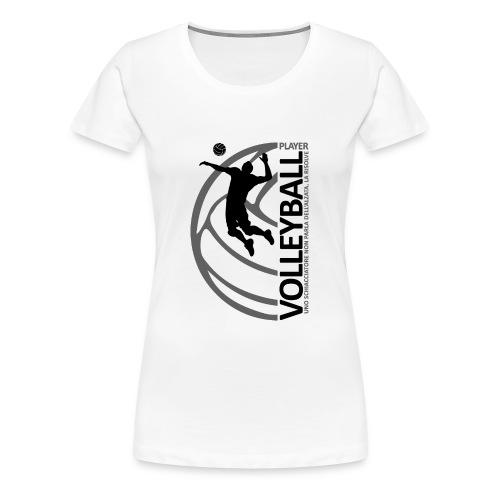 volleyballplayer MAN black - Maglietta Premium da donna